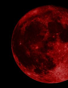 Red Moon | via Tumblr
