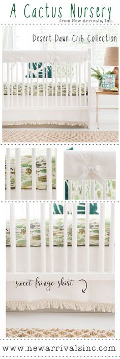 Cactus Baby Bedding Collection