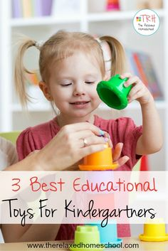 Best educational toys for kindergartners! These will make learning so much fun!