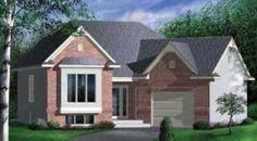 diseño de casa pequeña con garage y 91metros