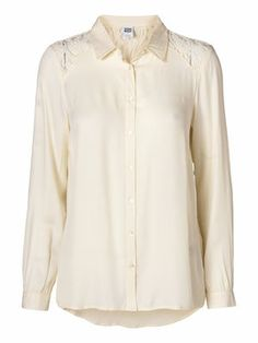 DRIVE L/S LACE SHIRT IT, White Asparagus, main