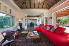 Imagine design villa st barths #StBarths #StBarth #SaintBarth St Barts, Living Room Pictures, Great Restaurants, Florida Home, Source Of Inspiration, Beach Fun, Luxury Villa, Architecture, House