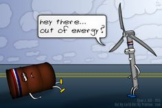 Not My Earth (Not My Problem): Out of Energy?