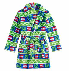 Minecraft Creeper Plush Robe Boys Size 8 Minecraft Video Games aef02aabf