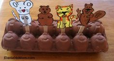 Deirdre from JDaniel4's Mom brings us a great way to enjoy Groundhog's Day with an animal stick puppet game! Come check this out and have great fun!