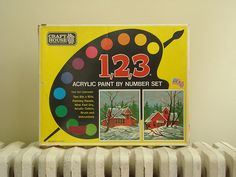 Paint by numbers-- loved them!
