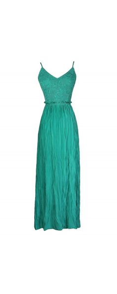 I kinda like this but not with the opened back    Dramatic Entrance Crochet Lace Open Back Maxi Dress in Jade