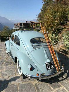 56 Volkswagon Bug, Car Volkswagen, Vw Camper, Vw Bus, Weird Cars, Crazy Cars, Vintage Caravans, Cute Cars, Life Is An Adventure