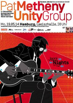GigPosters.com - Pat Metheny Unity Group