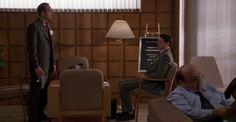"""La clave del éxito"" (""The Big Kahuna"", 1999). Dir. John Swanbeck. Stars:  Kevin Spacey, Danny DeVito, Peter Facinelli."