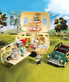 Take a look at this Caravan Camper Set on zulily today!