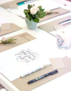 "Taller ""Lettering para eventos bonitos"" | PPStudio"