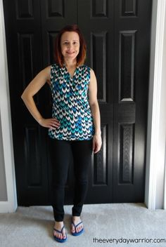 Stitch Fix Review #14: September 2015 - The Everyday Warrior