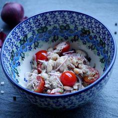 Deftiger Bohnensalat mit Thunfisch