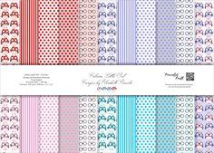 """Kit Digital LO - Little Owl - Corujics by Elisabeth Pimenta.  Contendo 22 papéis digitais e 1 papel extra em alta resolução (JPEG - 300 dpi)  Tamanho: 30,5x 30,5 ou 12 """" x 12"""".  #kitdigital #paperdigital #littleowl #corujics #pimentaskraft #elisabeth #elo7 #scrap"""