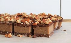 We might be biased, but this raw pecan caramel slice rivals any traditional caramel slice!