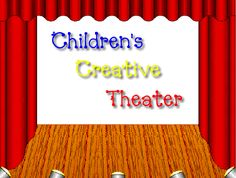 Creative Children's Theatre   Information on the history of theatre, related terms, dramatic games to play, and skits which students can perform.