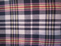 madras plaid 100 cotton fabrics from Just Madras are now on sale for 3.95 a yard