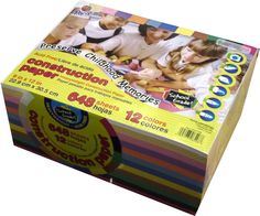 Amazon.com: Pacon Creative Products Heavyweight Construction Paper, Value Mega Pack, 648 Sheets