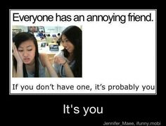 Ha, u right it's me, I love being annoying!!!!  :)>