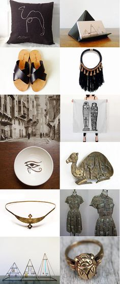 Walk Like an Egyptian by Gypsi Vintage on Etsy--Pinned with TreasuryPin.com