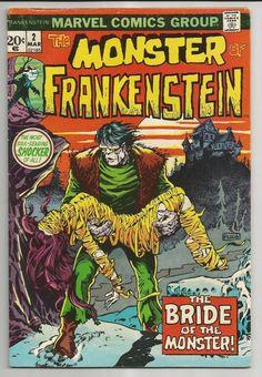 THE MONSTER OF FRANKENSTEIN #2 (1973) - THE BRIDE OF THE MONSTER