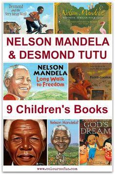 Children's Books about Nelson Mandela & Desmond Tutu
