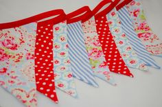 Shabby Chic Party Bunting