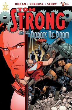 Tom Strong and the Robots of Doom No.1 (sur 6)