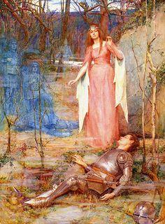 Henry Meynell Rheam La belle dame sans merci, 1859 – 1920