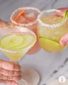 Easy Drink Recipes, Alcohol Drink Recipes, Summer Recipes, Summer Drinks, Cocktail Drinks, Alcoholic Drinks, Cocktail Tequila, Beverages, Tequila Mixed Drinks