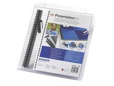 Kit de presentacion GBC  http://www.20milproductos.com/maquinas-de-oficina/recambios-y-accesorios/kit-de-presentacion-gbc.html