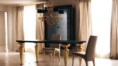 Luxusní italský nábytek pro Vaší jídelnu od #Corte Zari http://www.saloncardinal.com/galerie-corte-zari-9e1