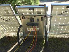 "the ""solman classic"", a portable solar generator."