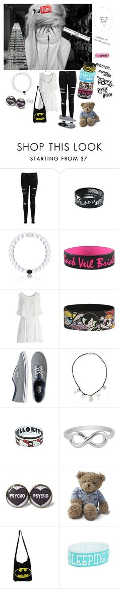 """""""You're cute, you know that?"""" by shadow-dusk ❤ liked on Polyvore featuring Miss Selfridge, Everest, Chicwish, Vans, NOVICA, Jewel Exclusive and Lexington"""