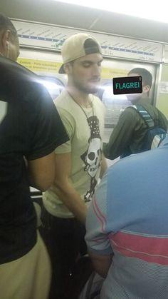 Guilherme Leão - Segurança gato do metro de São Paulo