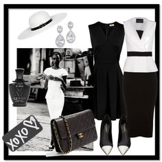 """""""Black and White"""" by joicetomaz on Polyvore"""