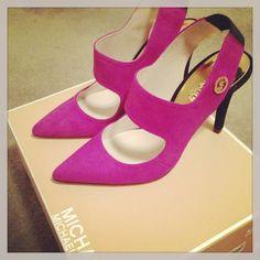 Michael Kors heels #MK #shoes