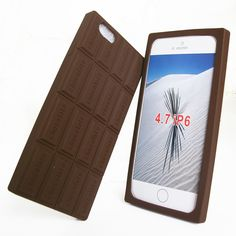 """Find More Phone Bags & Cases Information about Case for iphone 6 silicone 3D Chocolate design thickening back cover for iphone6 4.7"""" soft defender phone cases Free shipping,High Quality case skin cover,China case cover for tablet Suppliers, Cheap case cover for iphone from peasecod phone accessories on Aliexpress.com"""