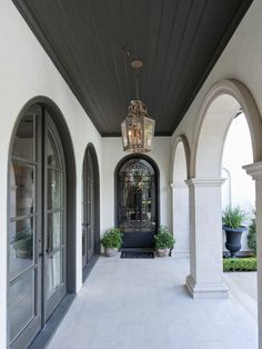 Dark Ceiling Design, Pictures, Remodel, Decor and Ideas - page 8 Dark Ceiling, Porch Ceiling, Ceiling Color, Patio Ceiling Ideas, Accent Ceiling, Trey Ceiling, Ceiling Murals, Exterior Design, Interior And Exterior