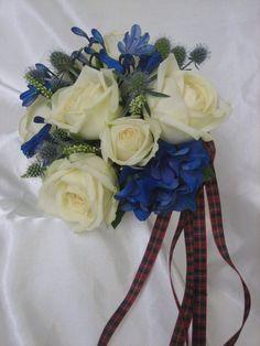 Blue Agapanthus & Hydrangea