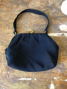 Excited to share this item from my shop: Evening bag black and gold Swedish formal prom purse Formal Prom, Gold Hardware, Evening Bags, Vintage Black, 1950s, Wallets, Etsy Shop, Purses, How To Wear
