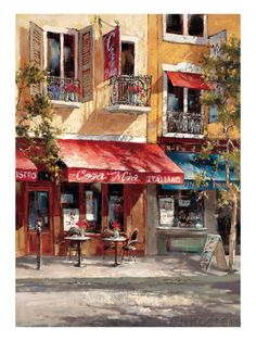 Casa Mia Italiano Giclee Print by Brent Heighton at AllPosters.com