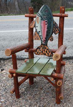 Log Fish arm Chair | Flickr - Photo Sharing!