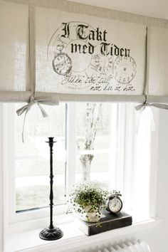 Discover thousands of images about Shabby Chic Style Shabby Vintage, Vintage Decor, Shabby Chic, French Decor, French Country Decorating, Window Coverings, Window Treatments, Window Dressings, Curtains With Blinds