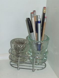 Insulator Desk Organizer