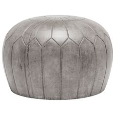 Outdoor Concrete Pouf - Grey
