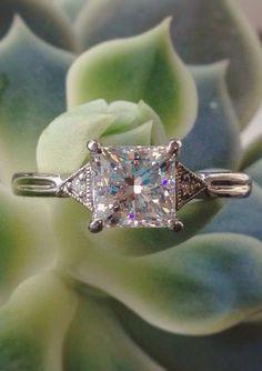 Olivetta Diamond Ring White Gold