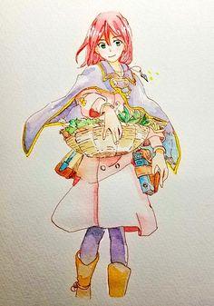 Snow White With The Red Hair, White Hair, Anime Princess, Princess Zelda, Akagami No Shirayukihime, Old Video, Watercolour Tutorials, Kingdom Hearts, Box Art