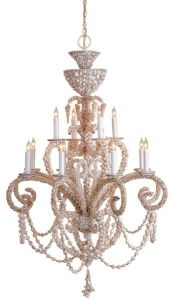 Grotto Shell Chandelier, Large